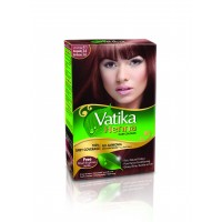 Vatika Henna Hair Color Burgundy 10g x 6