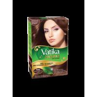 Vatika Henna Hair Color Natural   Brown (4.0) 10g x 6