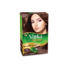 Vatika Henna Hair Color Natural   Brown (4.0) 10g x 6