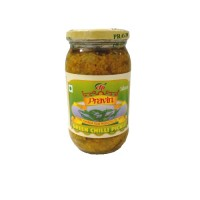 GREEN CHILLY PICKLE PRAVIN-380g EXPIRY DATE--2020年4月